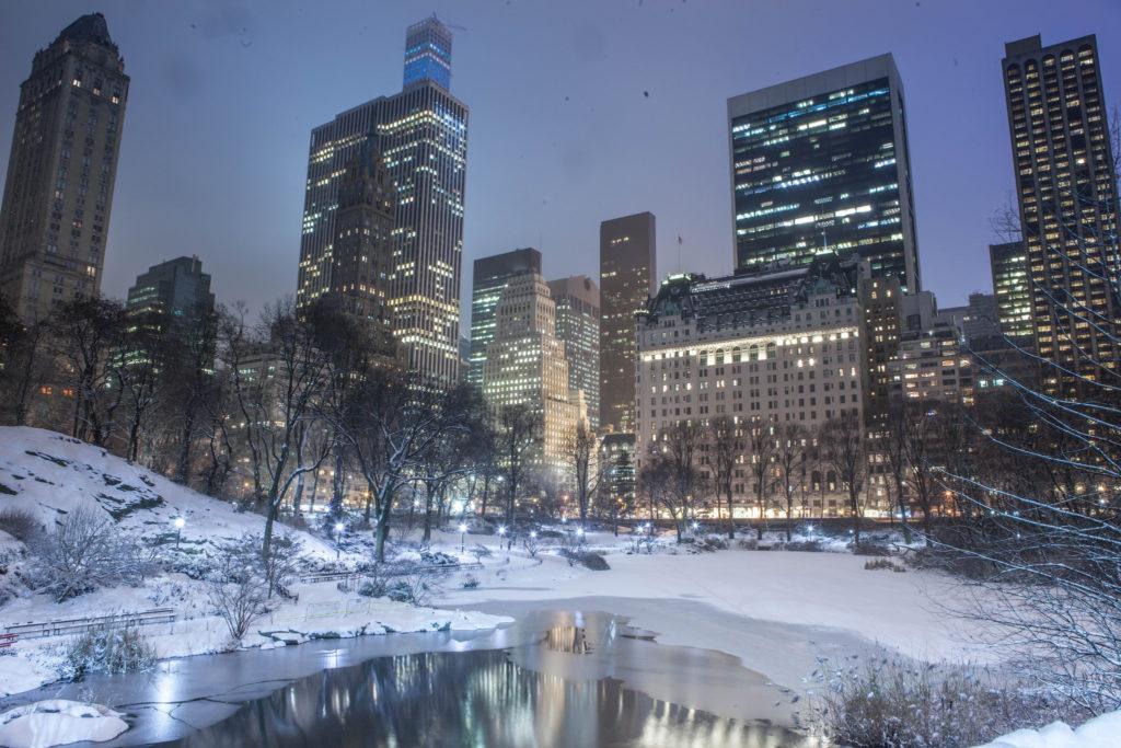 temperature new york hiver